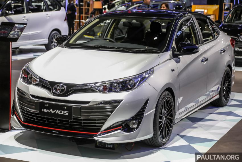 toyota yaris trd sportivo 2018 price all new camry harga vios at giias | carspiritpk