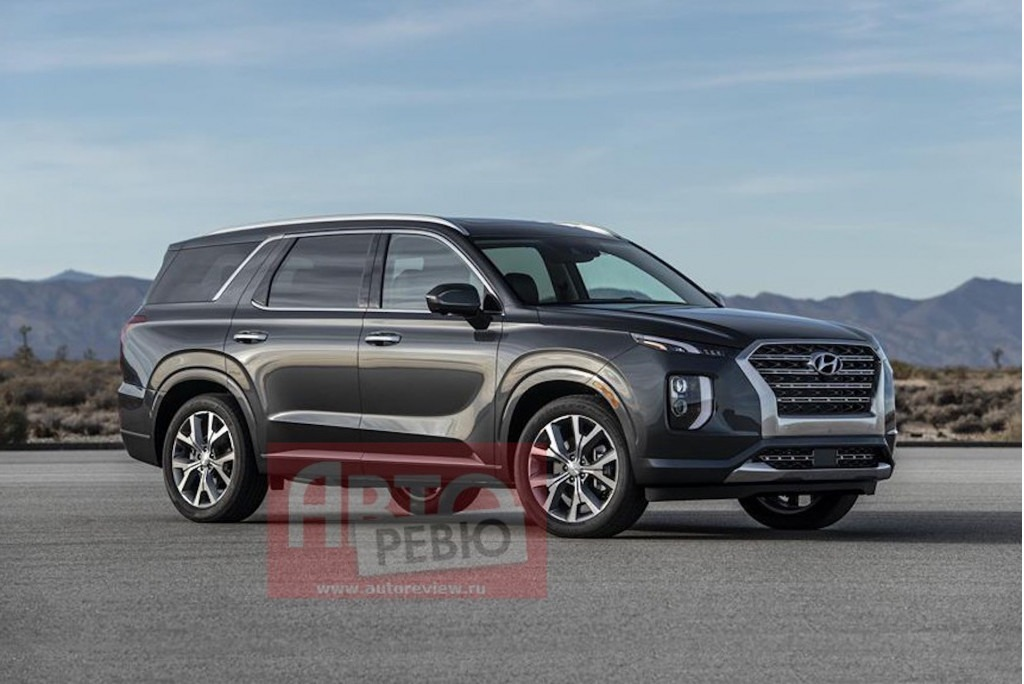 Hyundai's Flagship Palisade SUV Leaked Ahead of Debut