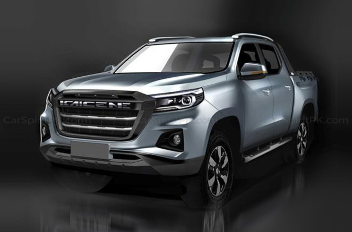 Kaicene F70 Pickup Truck by Changan