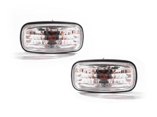 Nissan Pulsar Clear Left + Right Set Guard Flashers