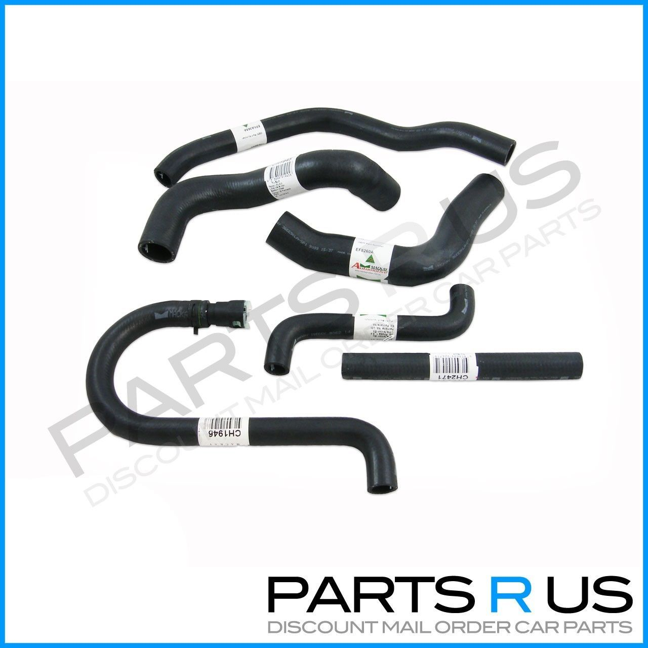 hight resolution of radiator hoses kit cooling pack ford falcon ef el 4 0l 6 cyl fairmont nf nl xr6