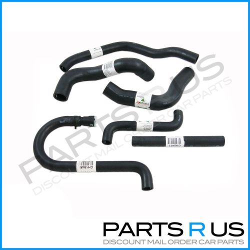 small resolution of radiator hoses kit cooling pack ford falcon ef el 4 0l 6 cyl fairmont nf nl xr6
