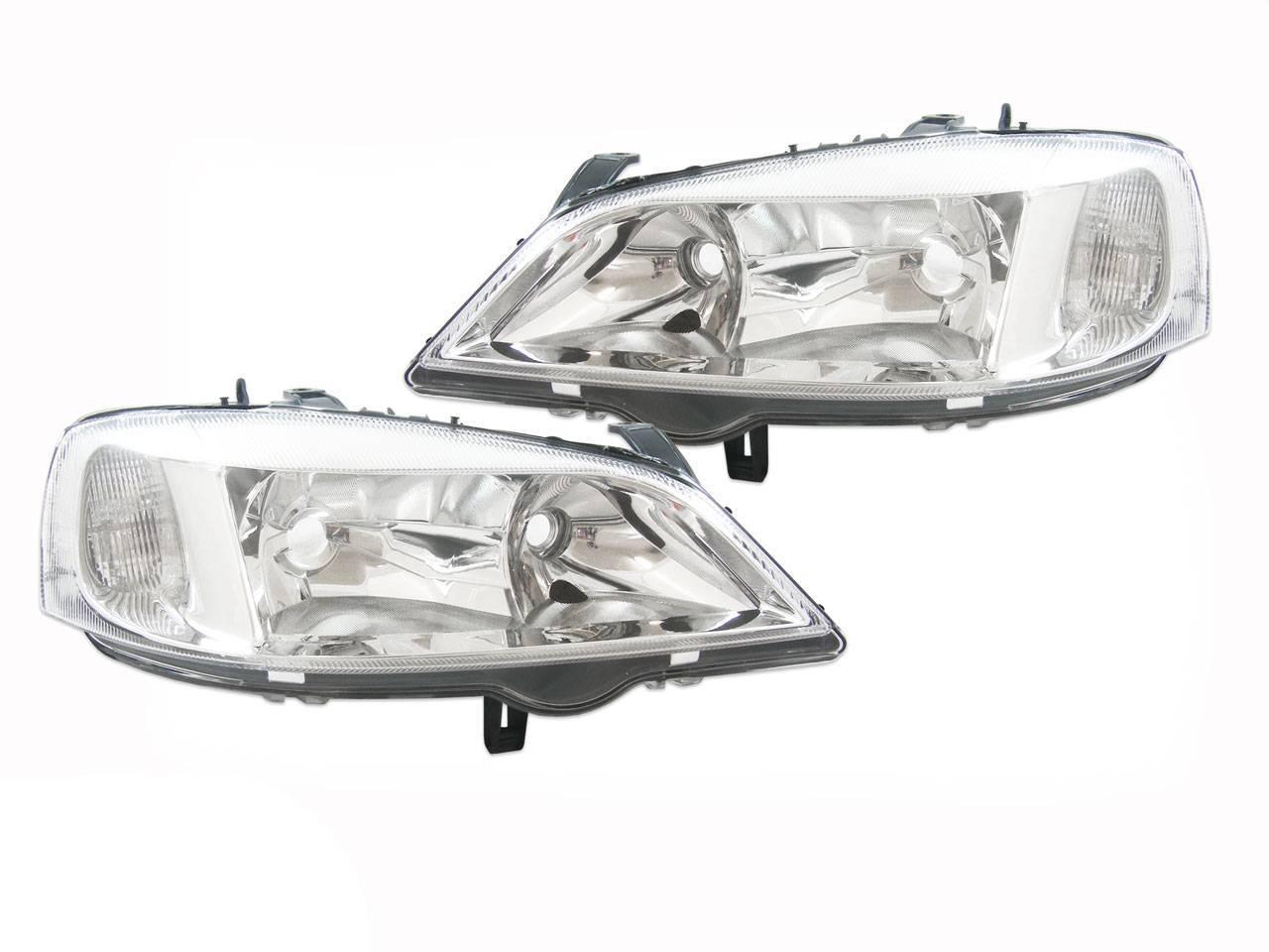 Head Lights Holden Ts Astra 98 99 00 01 02 03 04 Chrome