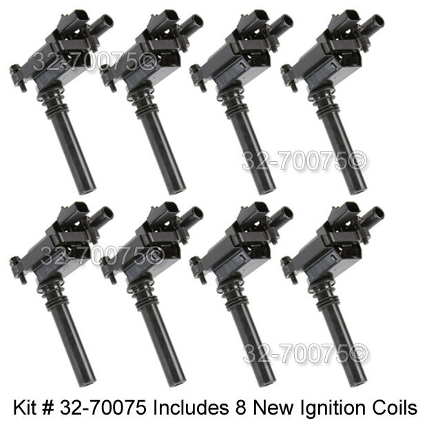 2005 Jeep Grand Cherokee Ignition Coil Set Parts from Car