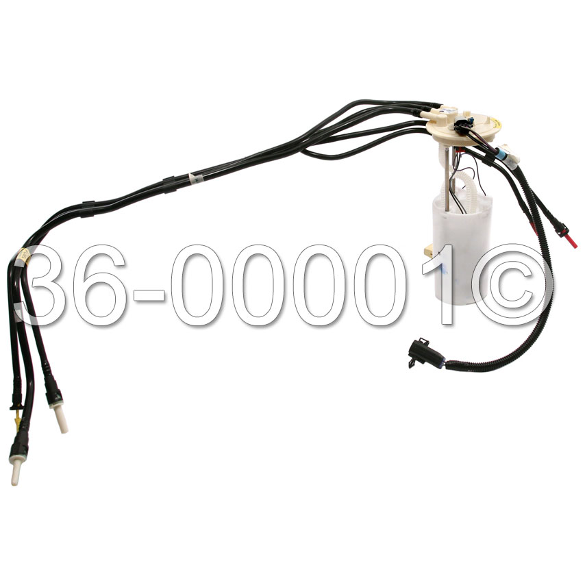 Chevrolet Monte Carlo Fuel Pump Assembly Parts from Car