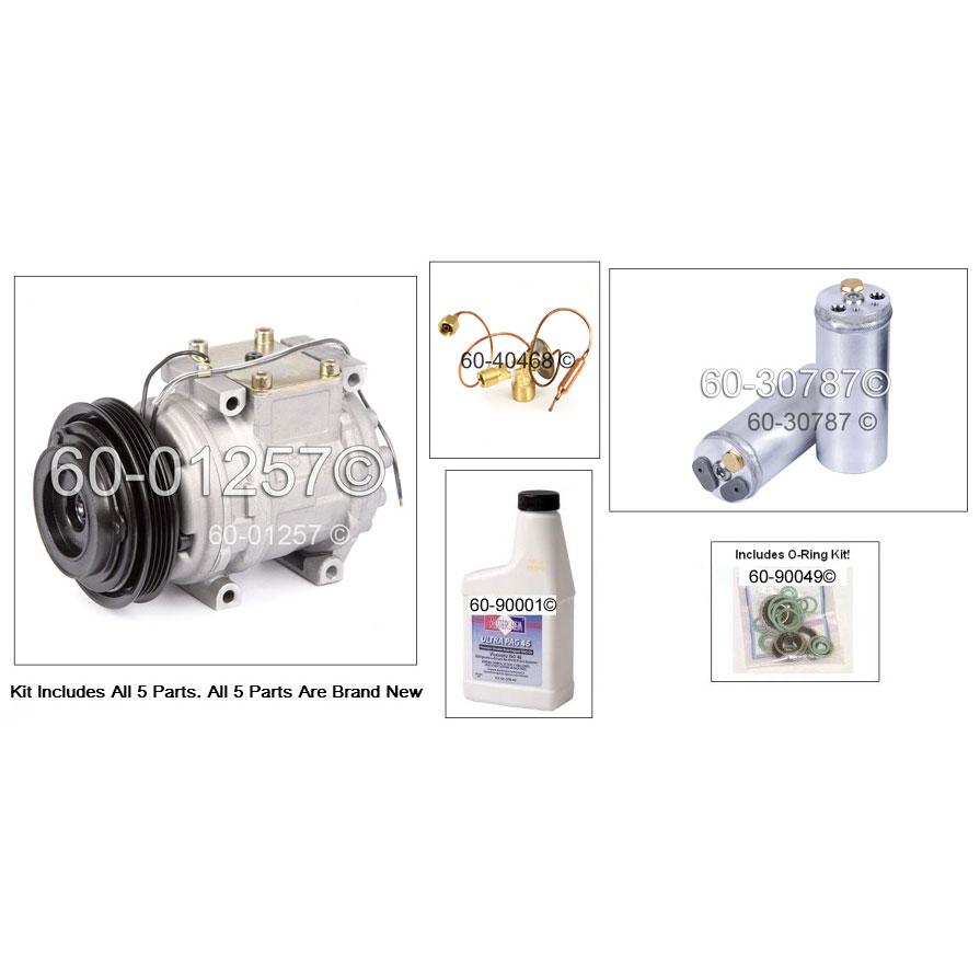 1999 Honda Civic AC Compressor Parts from Buy Auto Parts