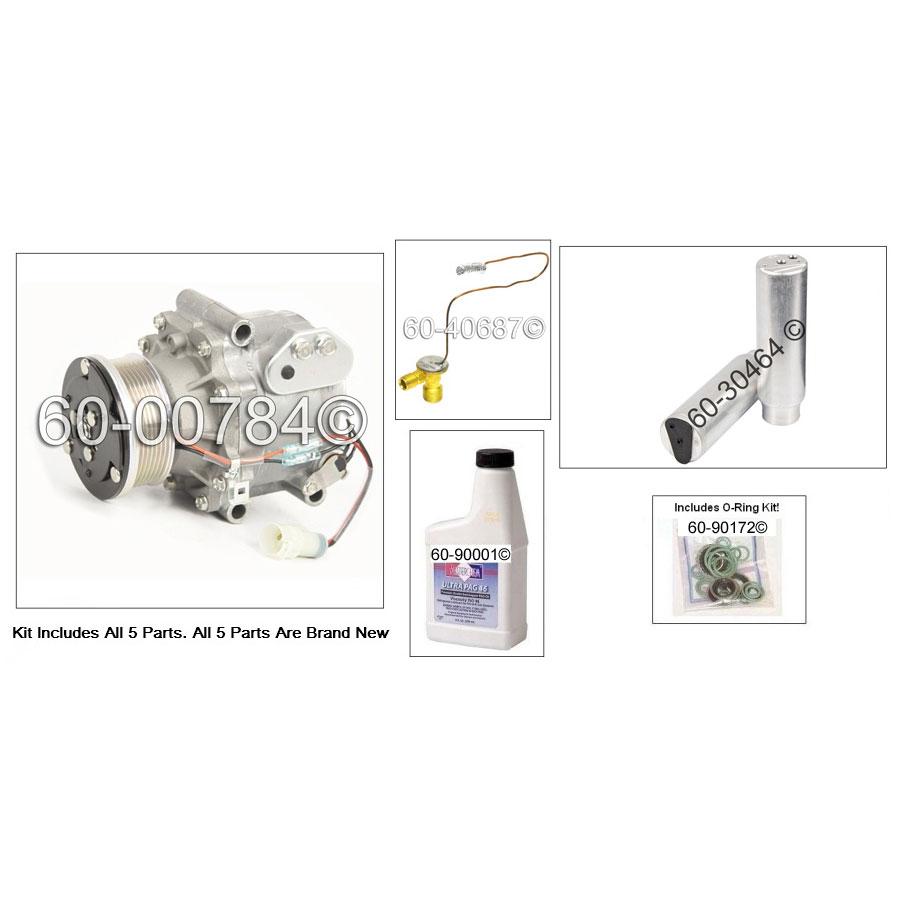 Land Rover Defender AC Kit with Sanden TRS105 [ 3204
