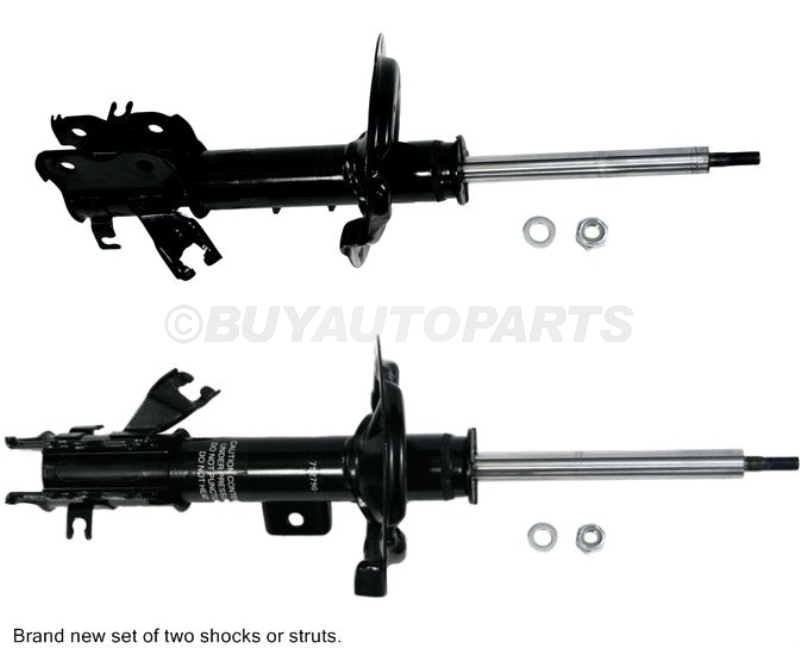 1995 Nissan Maxima Without Electronic Adjustable Suspension Front