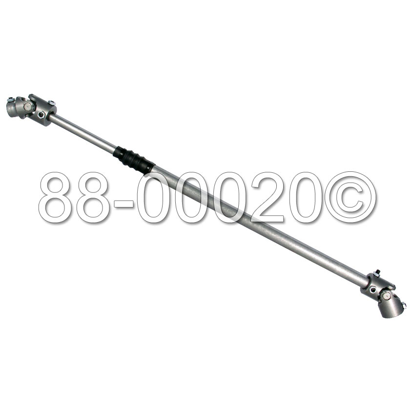 1973 Jeep CJ Models Steering Shaft from Carsteering