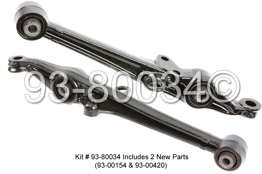 1997 Honda Accord Control Arm Kit Parts from Buy Auto Parts