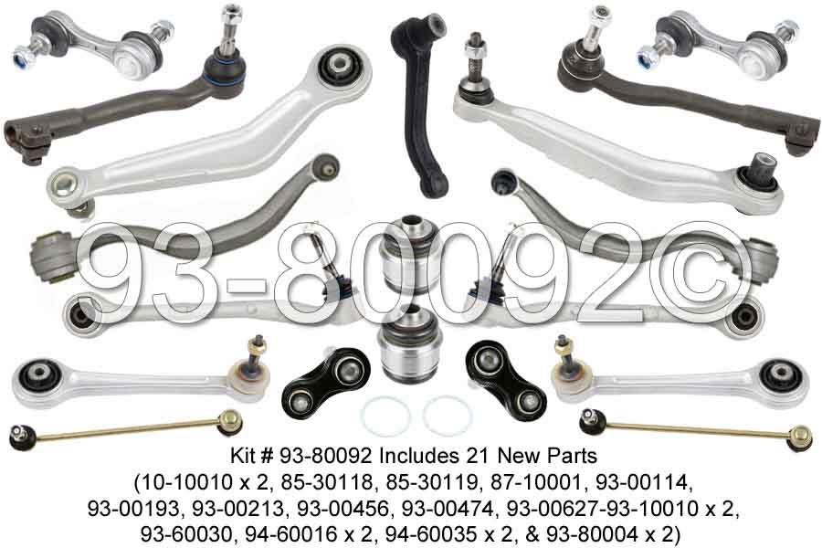 BMW 540i M5 E39 Suspension Control Arm Repair Kit Front