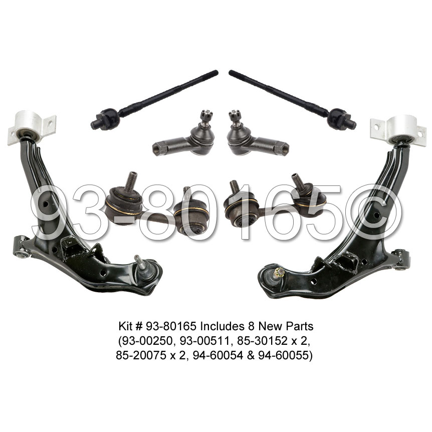 Infiniti I30 Control Arm Kit Parts from Car Parts Warehouse
