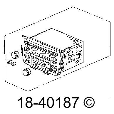 Fitssingle Disc Radio Models Navigation 39100 :Acura Car