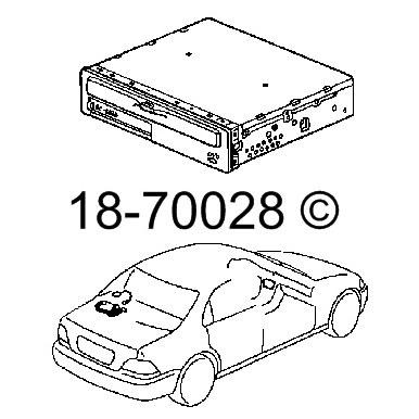 Acura RL DVD Navigation Module Parts, View Online Part