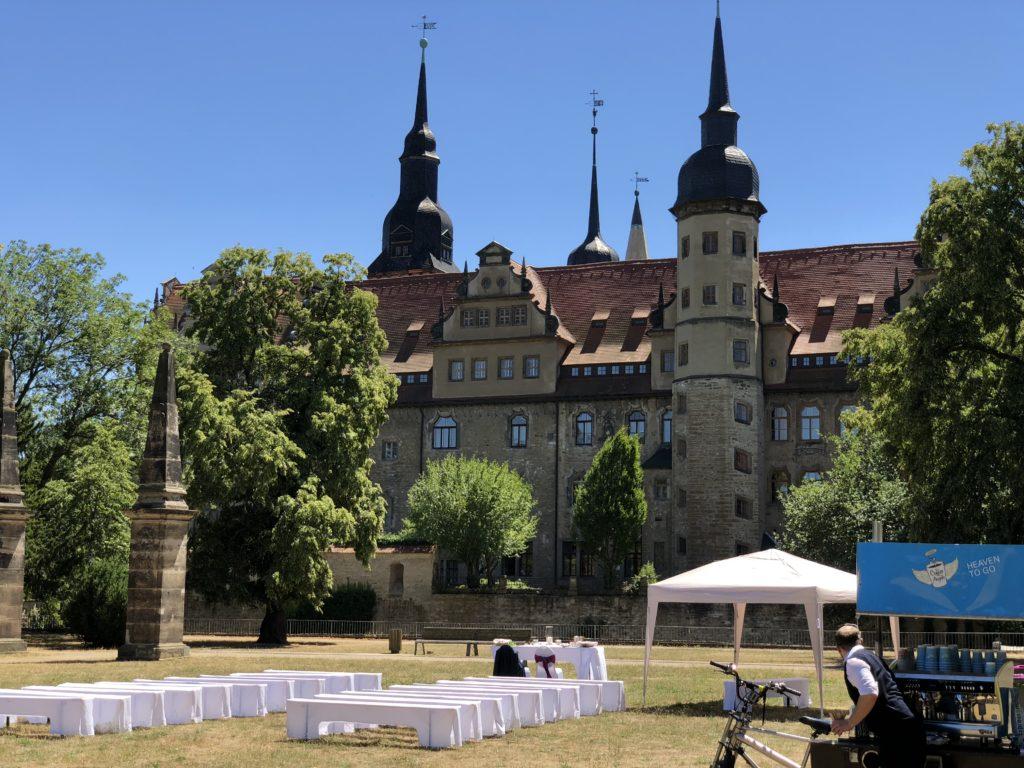 Freie Trauung am Merseburger Schloss  Trauredner Carsten