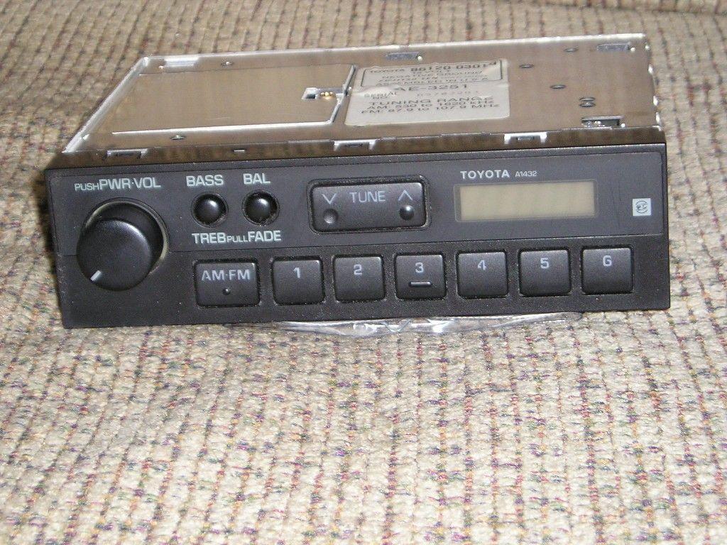 fujitsu ten car audio wiring diagram meyer plow dodge toyota am fm stereo oem for 1990 camry