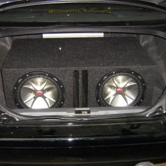 Kicker Cvr 2002 Ford Explorer Sport Trac Stereo Wiring Diagram Two 12 Quot Subs Powered By A Diamond Audio D3 800