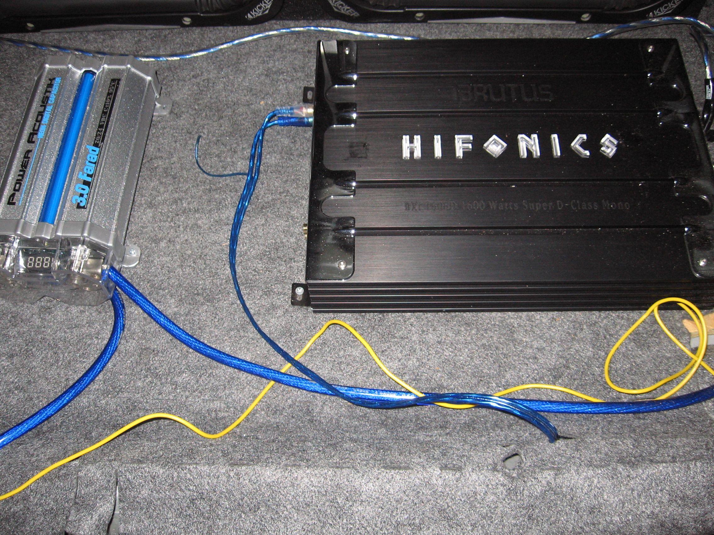 hifonics hfi12d4 wiring diagram how to draw moment diagrams farad capacitor