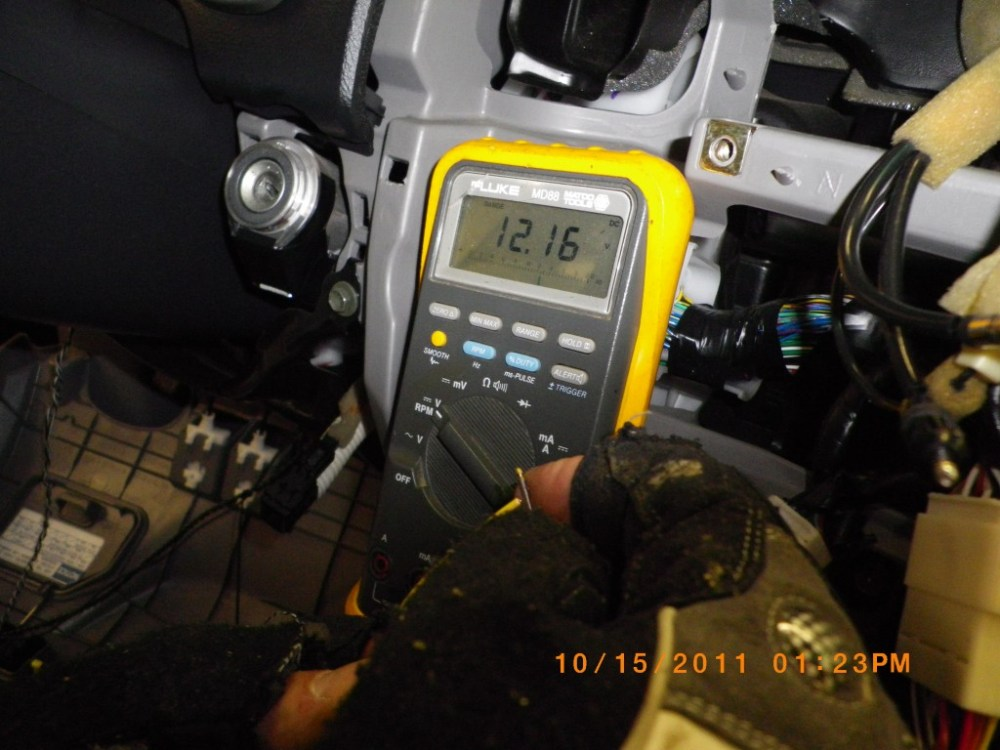 medium resolution of using a multimeter to test stock stereo harness wires