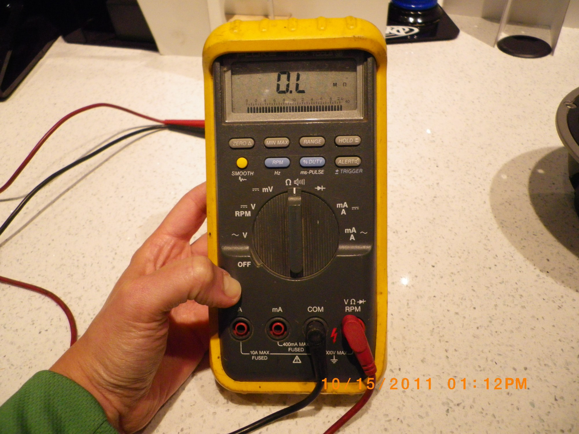 hight resolution of multimeter