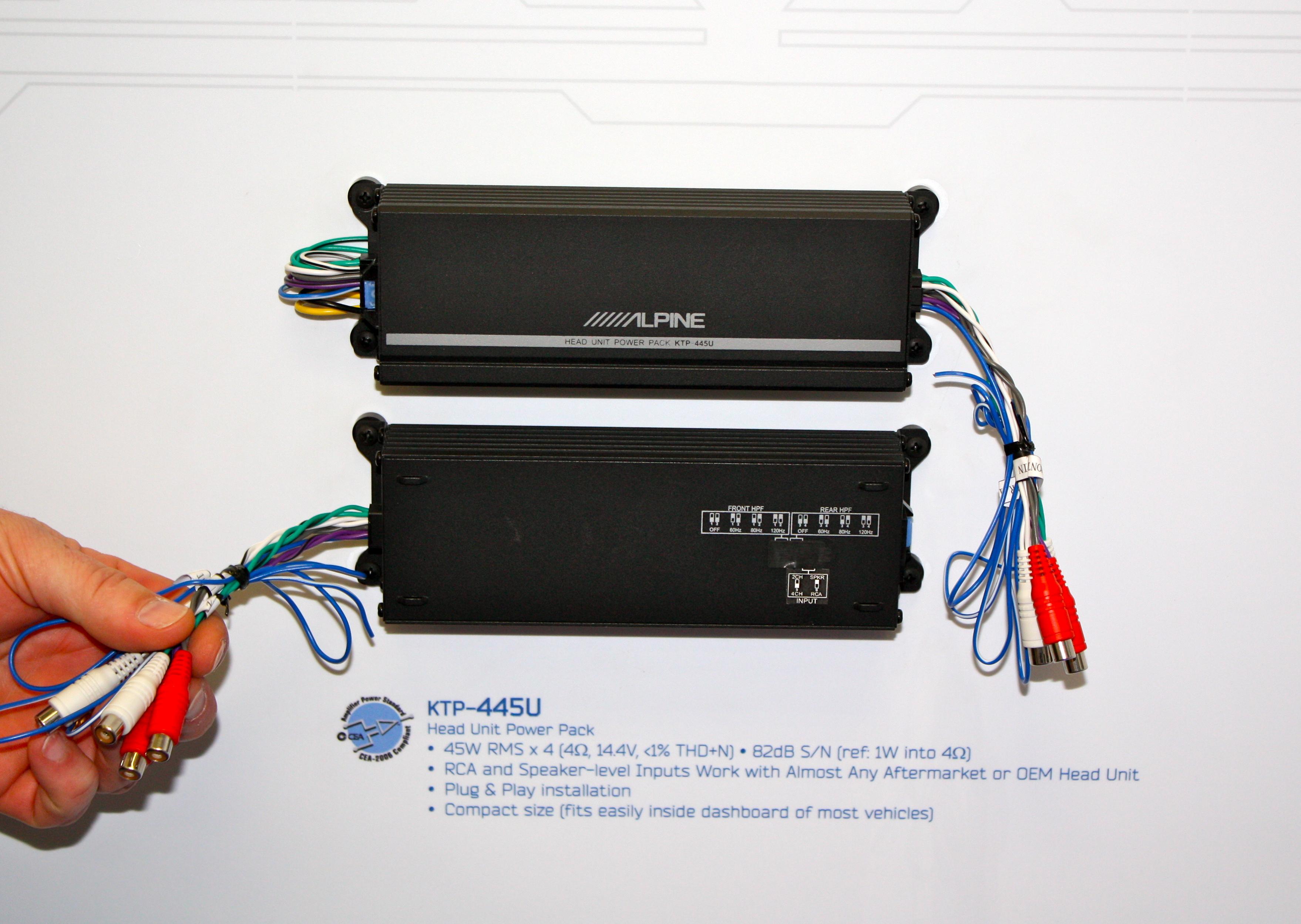 alpine ktp 445u power pack wiring diagram 1965 mustang head unit 51