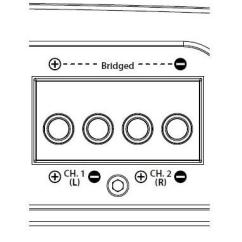 8 Ohm Speaker Wiring Diagrams Rv Battery Isolator Diagram What It Means To Bridge A Car Stereo Amp Reviews News