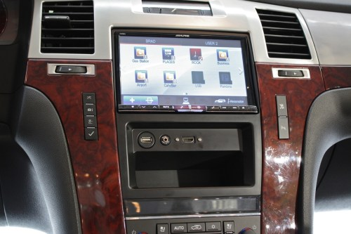 small resolution of alpine ktx esd8 cadillac dash kit