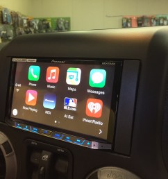 this week in the shop custom jeep wrangler subwoofer and pioneer avh 4100nex car stereo reviews news tuning wiring how to guide s [ 1632 x 1224 Pixel ]