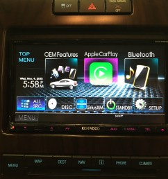 kenwood ddx9902s installed in a 2012 f 150 that came equipped with stock navigation  [ 1632 x 1224 Pixel ]