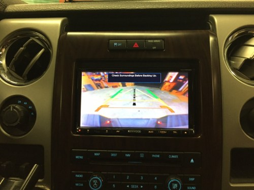 small resolution of ddx9902s with oem reverse camera 2012 f 150