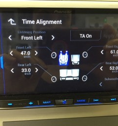best double din navigation 2016 pioneer avic 8200nex features digital time alignment three [ 1024 x 768 Pixel ]