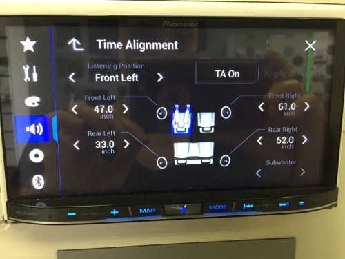 small resolution of best double din navigation 2016 pioneer avic 8200nex features digital time alignment three
