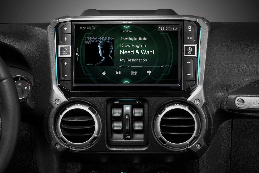 pioneer avh gps add on 1998 chevy cavalier engine diagram alpine i209-wra and x209-wra - finally gets all the features right for jeep wrangler ...