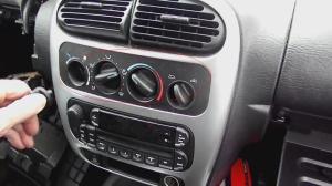 [Removing Radio From A 2005 Dodge Caravan]  1997 Dodge