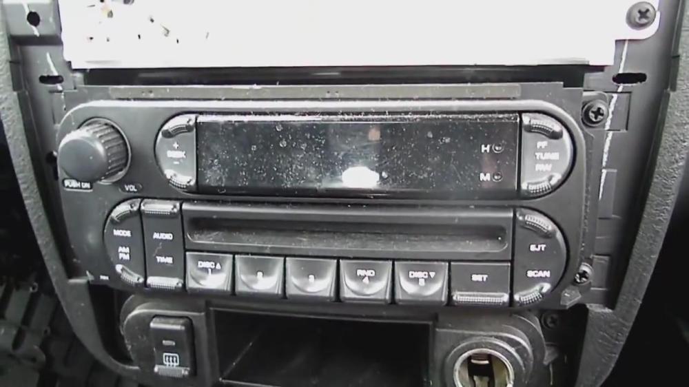 medium resolution of remove radio on dodge neon