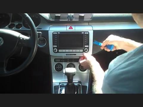 2002 vw golf stereo wiring diagram 2005 chevy equinox cooling system how to install a 2014 2015 volkswagen passat car radio with touch screen gps navigation ...