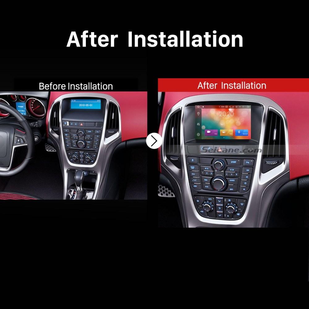 medium resolution of 2010 2011 2012 2013 opel astra j dvd gps bluetooth car radio after installation