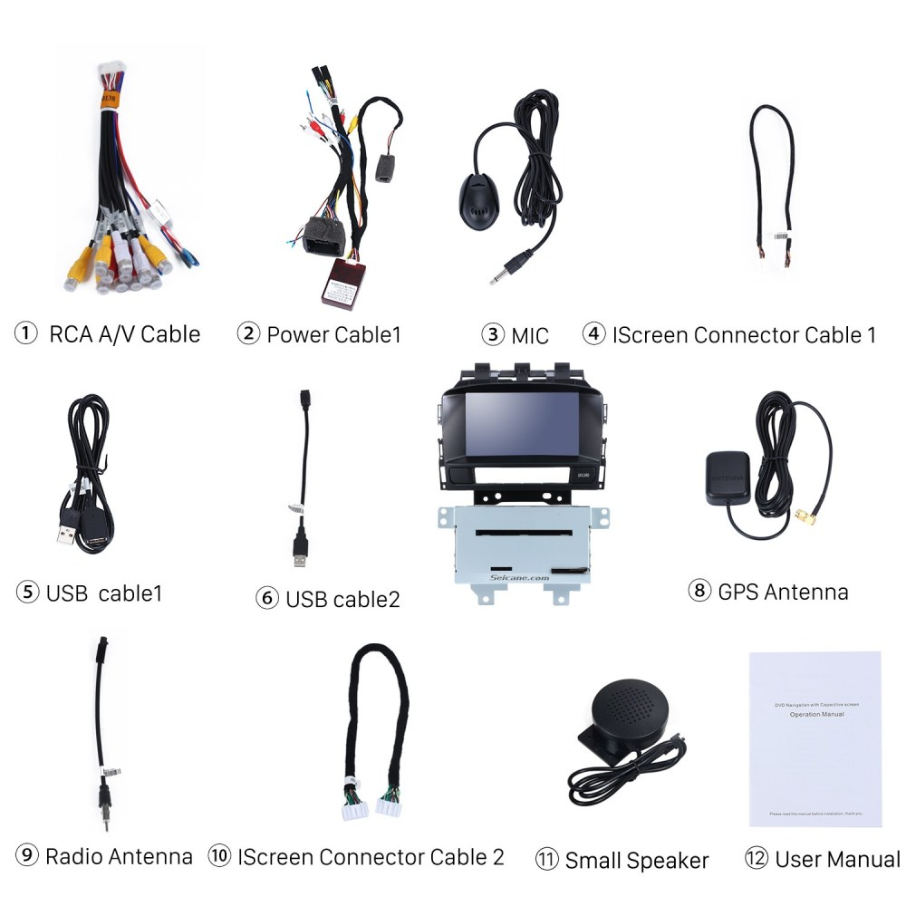 medium resolution of check all the accessories for the new seicane car radio