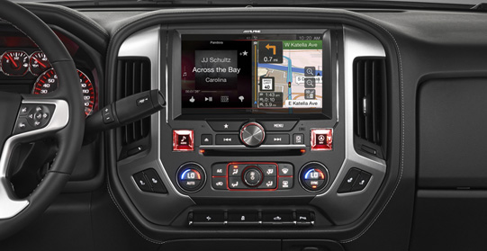 2012 Chevrolet Sonic Wiring Diagram Alpine X110 Sra 10 Inch In Dash Restyle System For Gmc