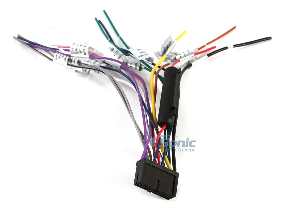 Power Acoustik Ptid 8920b Wire Harness Power Acoustik Ptid 7002nr