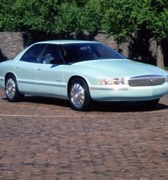 buick park avenue essence concept car 1989 [ 1078 x 850 Pixel ]