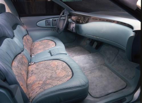 small resolution of buick park avenue essence concept car 1989 interior