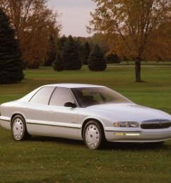 buick park avenue essence concept car 1989 white [ 1070 x 850 Pixel ]
