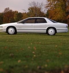buick park avenue essence concept car 1989 white [ 1076 x 850 Pixel ]