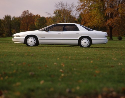 small resolution of buick park avenue essence concept car 1989 white