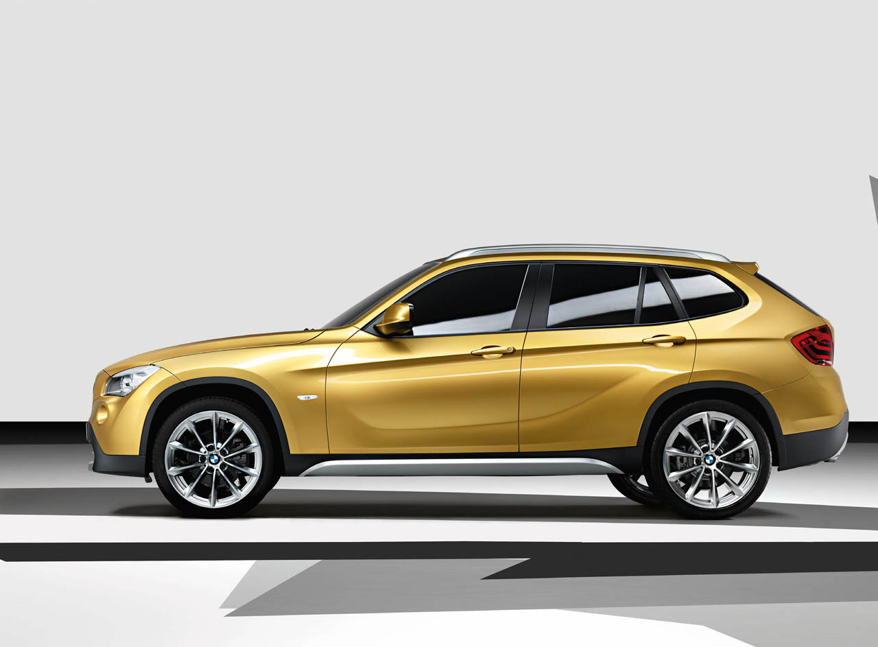 hight resolution of bmw x1 2008