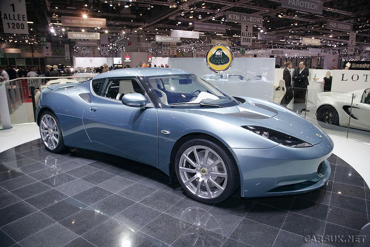 Lotus Evora 2+2   UK Car Prices Announced At Geneva 09