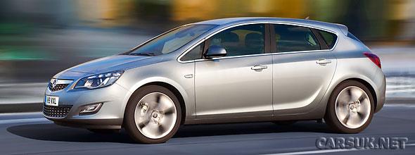 Opel / Vauxhall Astra revealed