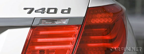 BMW has added a new diesel to the 7 Series Range for 2010 - the BMW 740d