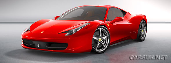 The first pictures of the new Ferrari 458 Italia